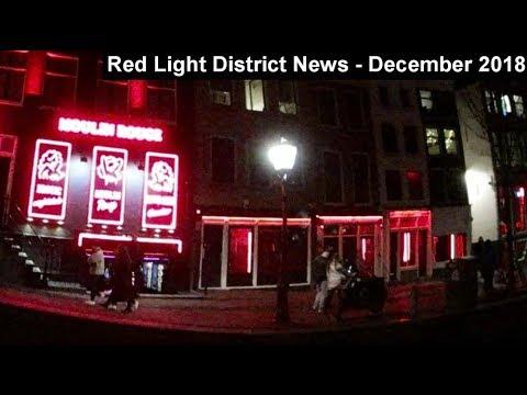 Amsterdam Red Light District News - December 2018