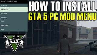 GTA 5 PC- HOW TO INSTALL MODS + SCRIPT HOOK: EASY!