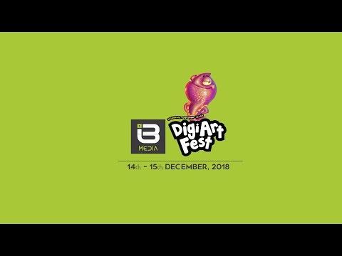 Digiart Fest 2018 | I3 Media| Jonah Elubu| Design Hub Kampala | Art Galore