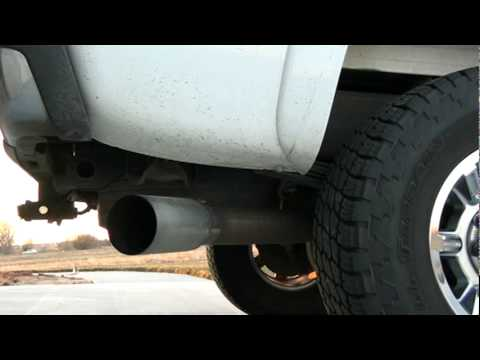 2005 Chevy Duramax Lly 4 Mbrp Turbo Back Exhaust Youtube