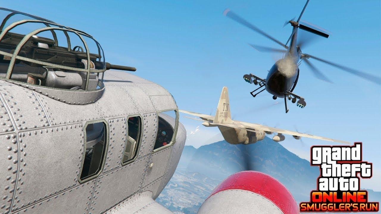 GTA 5 Online – Mua và lái thử máy bay phản lực mới   ND Gaming