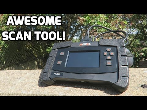 Ancel FX4000 OBDll Scan Tool Review