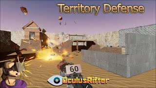 Territory Defense - Oculus Rift DK2 GamePlay & Review