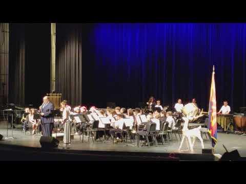 Sahuarita Middle School 6th Grade Winter Concert December 2017