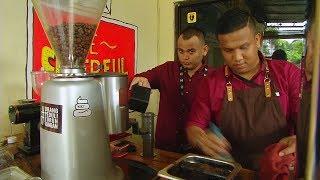 Индонезийских заключённых учат на бариста