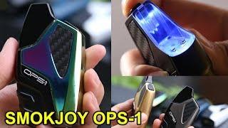 Best Pod Vape 2018 ? | SMOKJOY OPS 1 Cartridge Vape Kit | OLED Light Encircles Vape Pod | ElegoMall