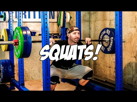 Squatting 3 Times Per Week and Gym Changes