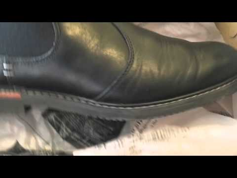 Timberland MEN'S BROOK PARK LEATHER CHELSEA SHOES unboxing