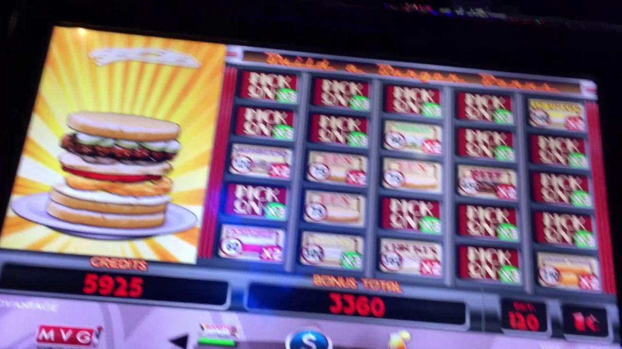 cheeseburger slot machine