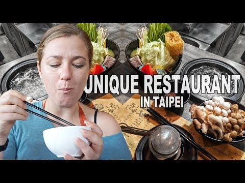 A UNIQUE/BUDGET restaurant you MUST VISIT in Taipei (+ Maokong Region & Beitou Thermal Valley)