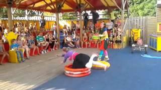 Meeleeftheater camping de Vergarde Betuwe Gelderland