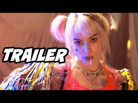 Justice League Birds Of Prey Teaser Trailer – Harley Quinn Batman Easter Eggs Breakdown