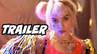Justice League Birds Of Prey Teaser Trailer - Harley Quinn Batman Easter Eggs Breakdown