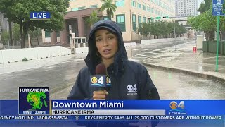 Homeless Still On Streets During Hurricane