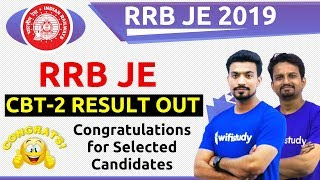 RRB JE 2019 | RRB JE CBT-2 Result Out | Check Now