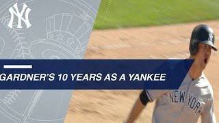 Brett Gardner's top Yankees moments