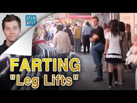 "Farting In New York ""Leg Lifts"""