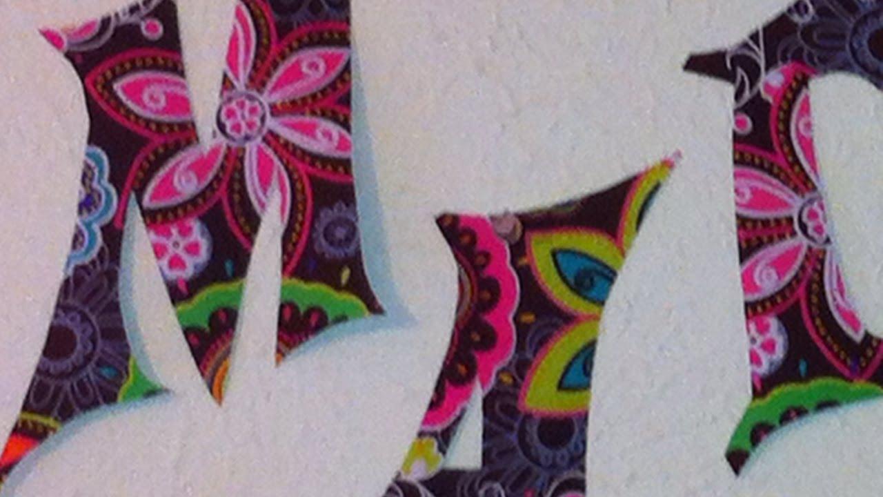 Lettere Da Appendere Al Muro crea delle stravaganti lettere di tessuto da parete - fai da te casa -  guidecentral