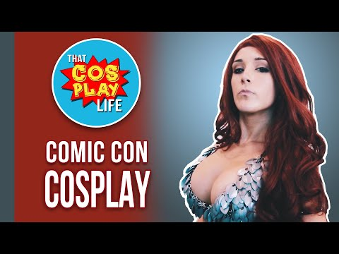 Comic Con Hot Cosplay 2017   SDCC Cosplayer Music Video   Surprise Ending