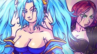 Repeat youtube video I CAN MILK THESE..! League of Legends Music Parody