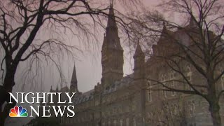 Student Filing Suit Against Georgetown Kicked Out Amid College Cheating Scam | NBC Nightly News
