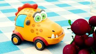 🚙 Машинки Мокас – Серия 17 – Пикник | Новый мультик для детей про машинки