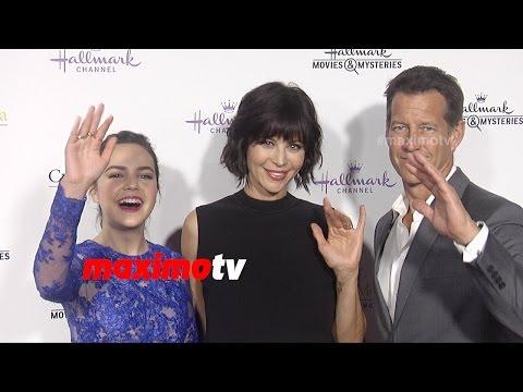 Bailee Madison, Catherine Bell, James Denton  Hallmark TCA Winter 2015  Good Witch