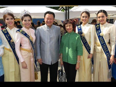 タイ国政府観光庁総裁 記者会見(2016年5月14日タイフェスティバル)