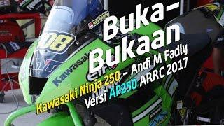 Video Buka Bukaan Kawasaki Ninja 250 Manual tech Versi AP250 ARRC 2017 download MP3, 3GP, MP4, WEBM, AVI, FLV Oktober 2018