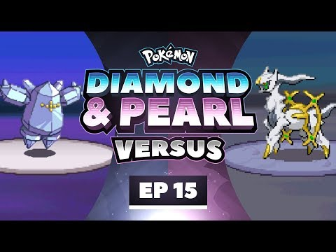 Pokemon Diamond and Pearl Versus - EP15   Is This the Finale?!