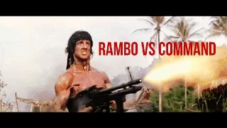 RAMBO VS COMMANDO