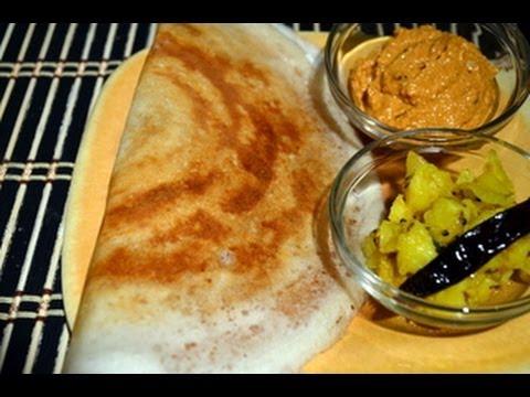Mysore Masala Dosa - Indian Breakfast Recipe