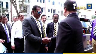 SLC's New President Shammi Silva Assumed Duties