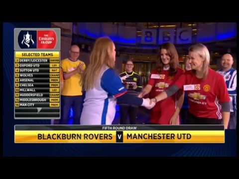 FA Cup 5th Round draw SUTTON UNITED vs ARSENAL