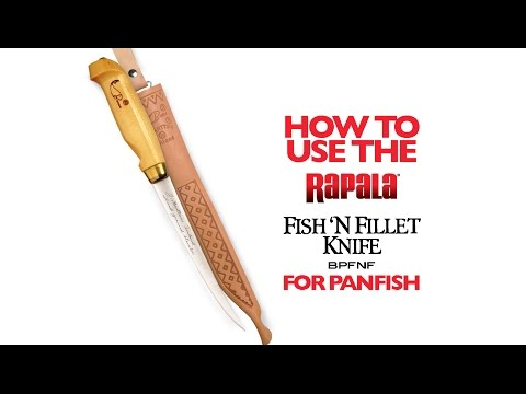 Filleting Panfish With The Fish 'N Fillet®: HOW TO FILLET