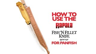 Fileerimisnuga Rapala Fish'n Fillet® 150 mm video