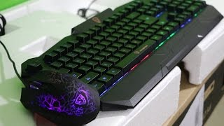 best budget rgb backlit gaming keyboard and mouse