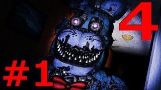 ホラーゲーム - ひきこもりに襲いかかる恐怖 - Five Nights at Freddy's 4 実況プレイ 第一夜