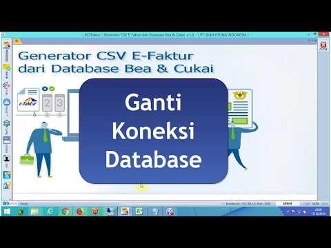 Ganti Koneksi Database