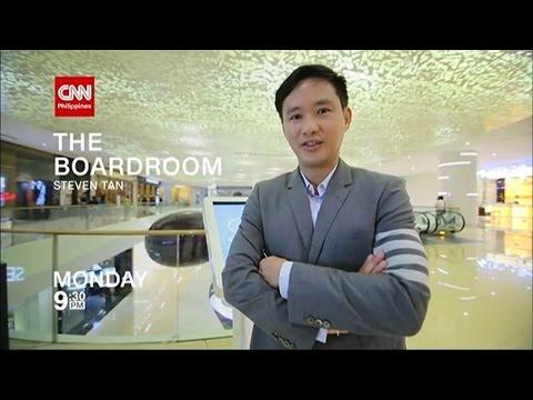 CNN Philippines: 'The Boardroom: Steven Tan' promo