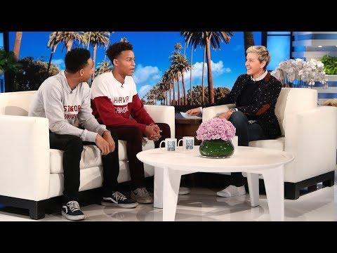 Ellen Meets Viral