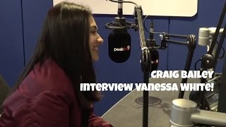 PEAK FM: Vanessa White from The Saturdays chats with Craig Bailey!