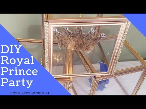 DIY Royal Prince Themed Party