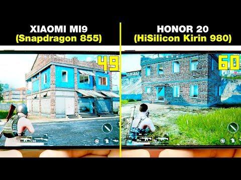XIAOMI MI9 (Snapdragon 855) vs HONOR 20 (KIRIN 980) БОЛЬШОЕ СРАВНЕНИЕ В ИГРАХ! FPS + НАГРЕВ