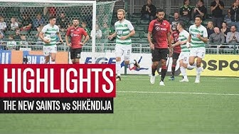 HIGHLIGHTS | The New Saints vs Shkëndija 4-0 (agg 4-5) | UCL