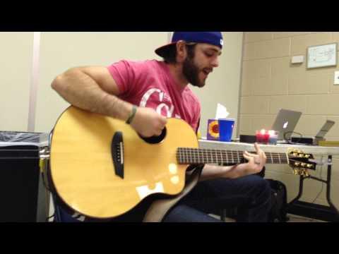 Thomas Rhett - It goes like this - private concert backstage Ak-Chin Pavilion 10.17.2013