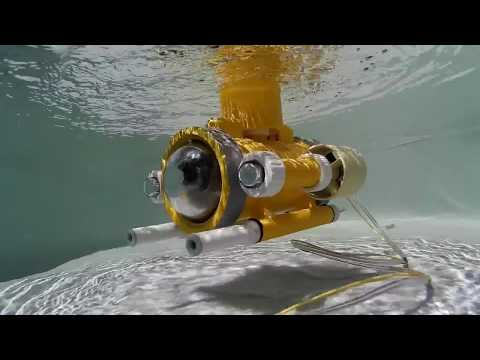 Underwater Robot Project: Fully assembled robot, first test on Kyiv Maker Faire (2015.06.06)