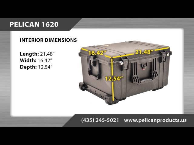 Pelican Case 1620 Information