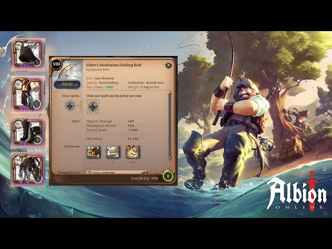 Committing 14+ MILLION Silver Becoming One Of The Fastest Fisherman In All Of Albion Online