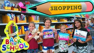 BACK TO SCHOOL SHOPPING VIDEO
